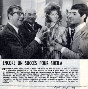 Octobre 1963 : Chevalier Euphoriste