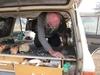 mali chutes de gouina bivouac papy au travail panne de batteries solaires