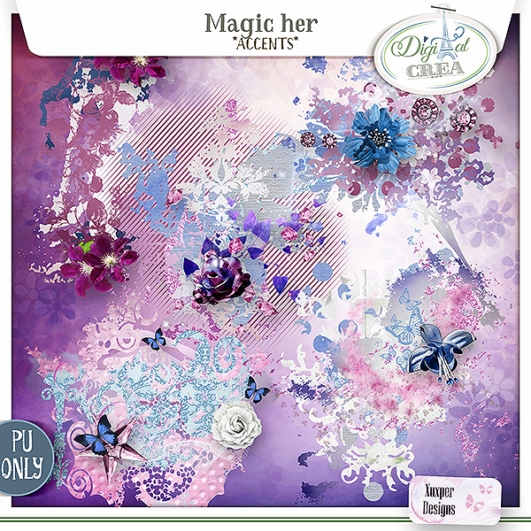 Magic Her Accents de Xuxper Designs