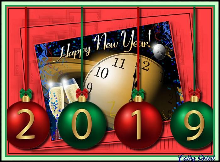 Bonne et Heureuse Année à toutes et tous !