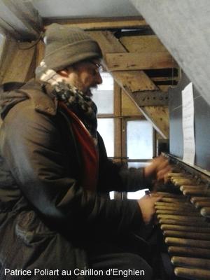 Patrice Poliart, nouveau carillonneur d'Enghien