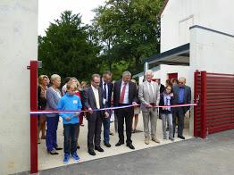 Historique : inauguration de la cour de l'école 14 septembre 2013