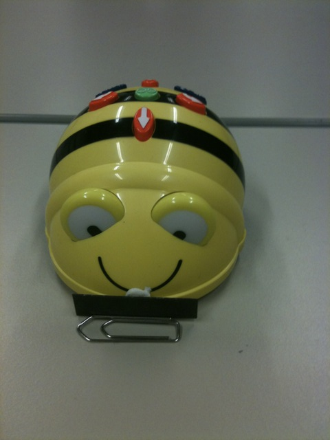 Bee-bot déplacer objets