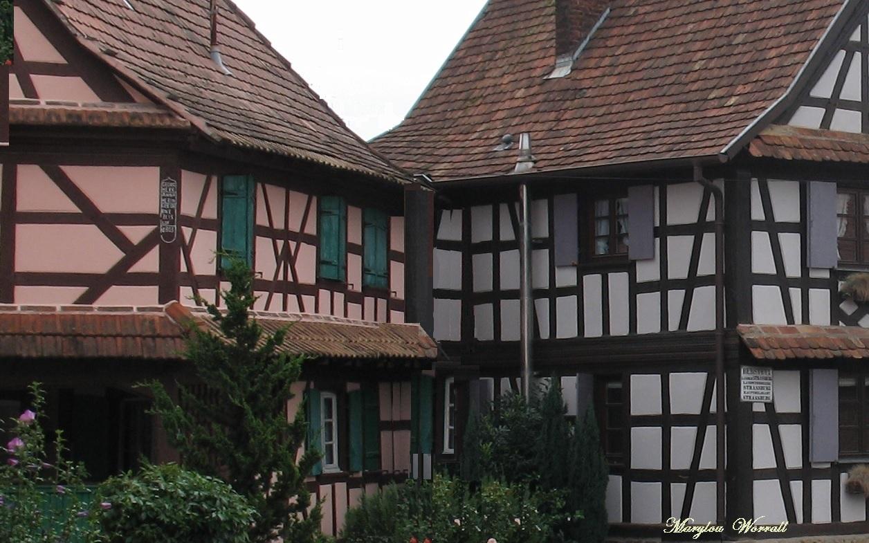 Deux communes du Kochersberg : Berstett et Olwisheim