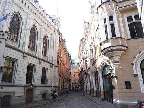 Riga: flânerie avec escargots (photos)