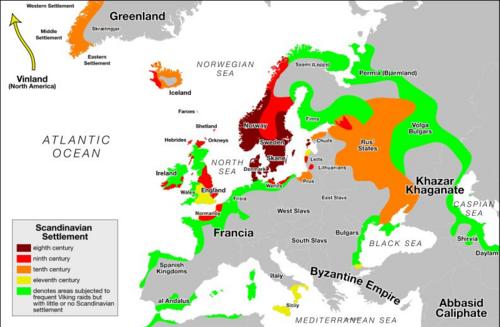 Les Vikings en Normandie (petit précis d'histoire):