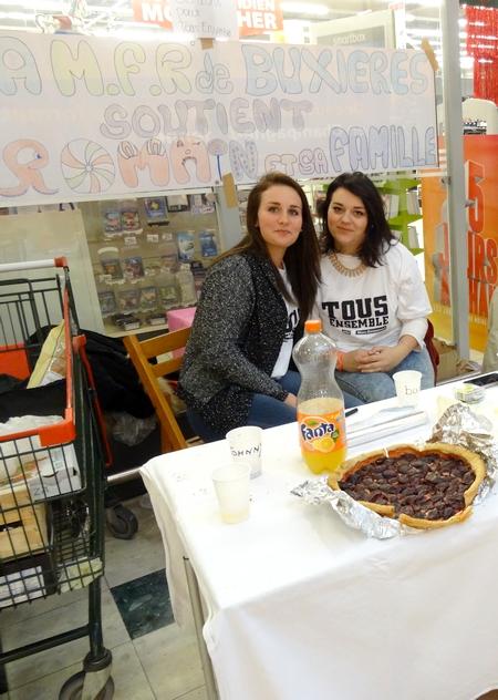 """Une vente de gâteaux au profit du chantier """"Tous ensemble"""" à Veuxhaulles sur Aube"""