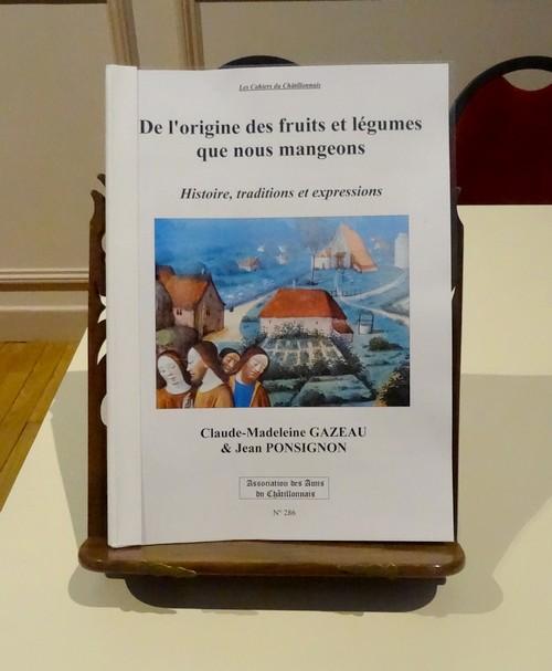 """""""De l'origine des fruits et des légumes que nous mangeons"""", une conférence de Jean Ponsignon"""