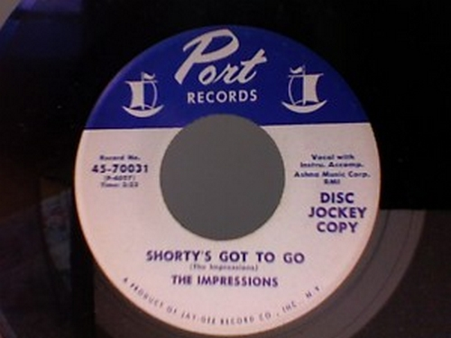 1962 : Single SP Port Records 70031 [ US ]