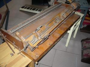 Reed-organ 'Stappers' : début du chantier