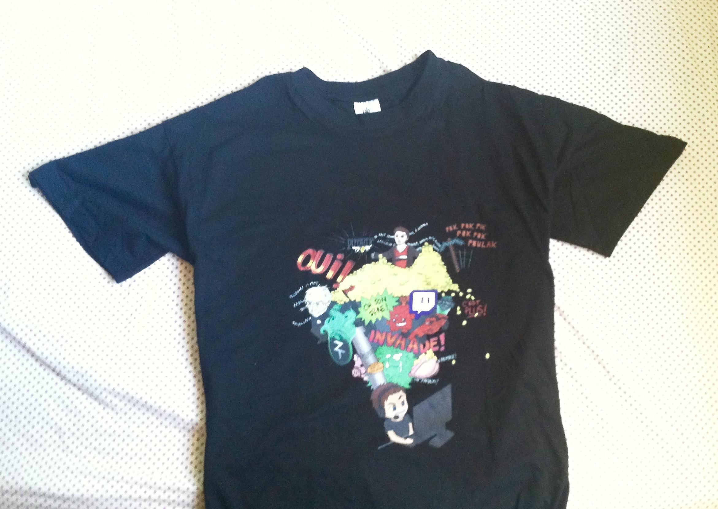 T-Shirt Zerator - La fabrique de couleurs