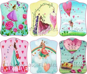 St Valentin ! cartonnettes