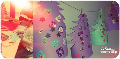 Couronnes de Noël en forme de sapin :)