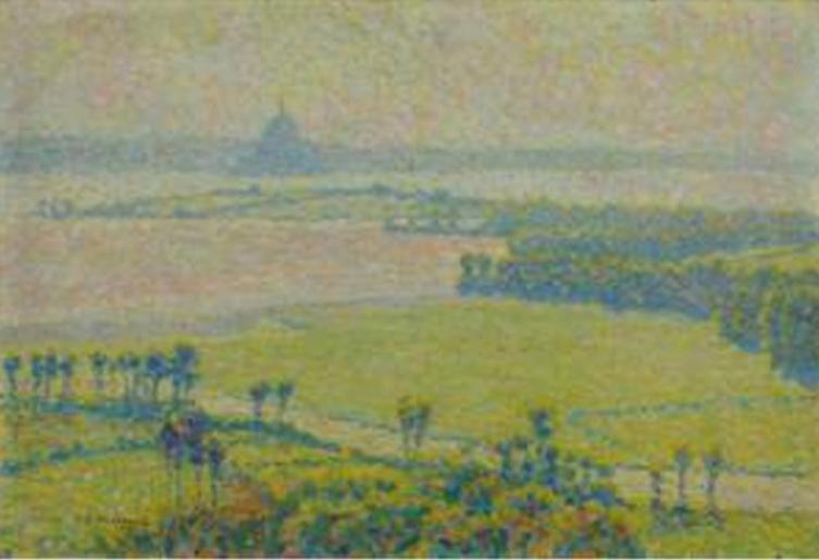 Vue sur le Mont-St-Michel