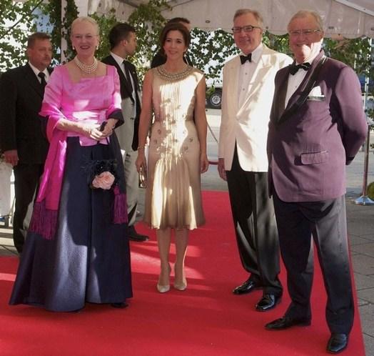 Margrethe, Henrik et Mary