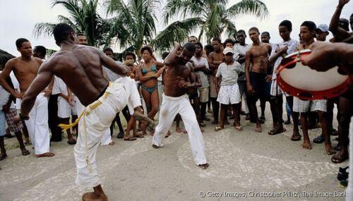 Capoeira démonstration