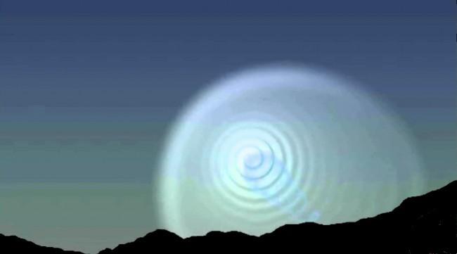 L' étrange spirale au Méxique montre la terre creuse...!