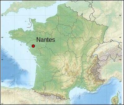 7.Nantes / vues du ciel ...