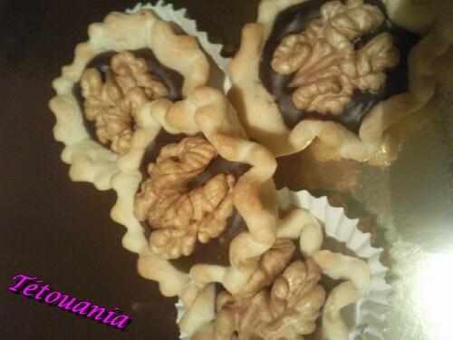 Tartelettes confiture de lait chocolat