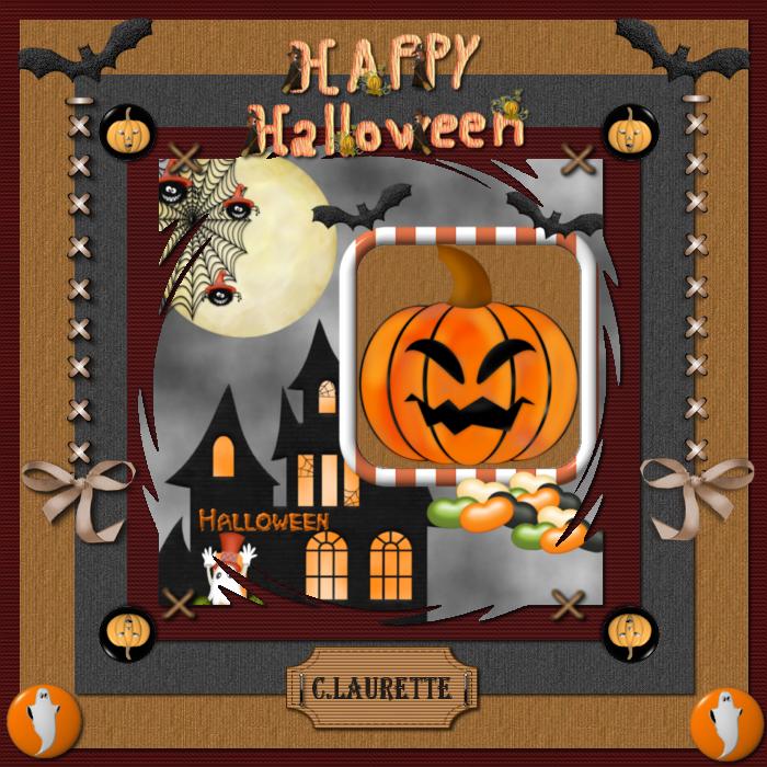 Template Halloween n°10