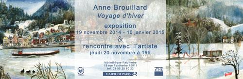 Anne Brouillard à la Bibliothèque Faidherbe