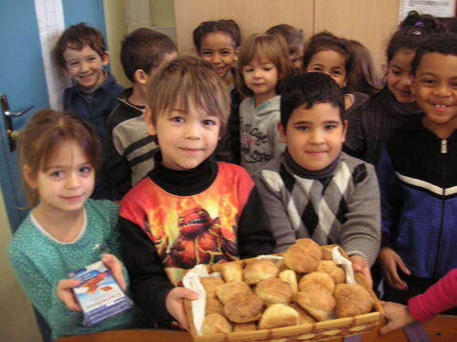 Les petits pains des CP