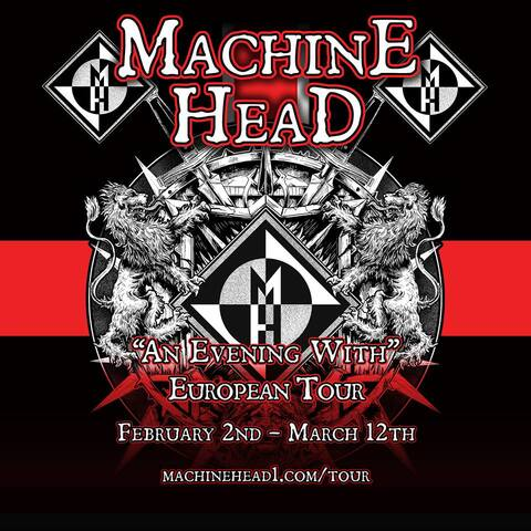 MACHINE HEAD - Reims - 18/03/2016