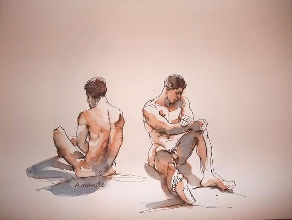 Mercredi - Modèle masculin