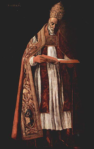 Saint Grégoire le Grand. Pape (64 ème) de 590 à 604 et Docteur de l'Eglise († 604)