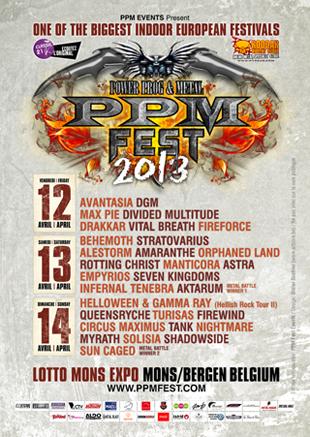 Affiche PPM Fest 2013