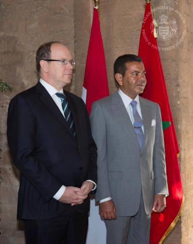 Albert au Maroc