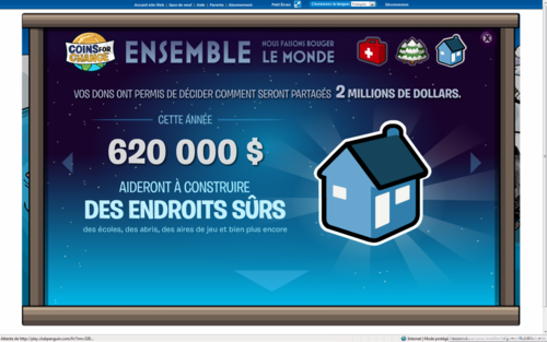 Les resultat de Coins For Change