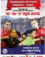 Championnat de France Benjamins / Cadets 2015