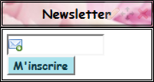 NewsLetter ~ Me Contacter