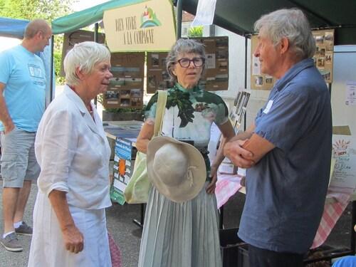 Le marché de Bien Vivre à la Campagne a eu lieu à Laignes le 21 juillet...
