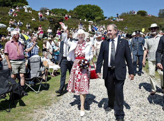 Margrethe et Benedikte