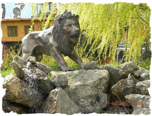le jardin Zen - a Aigle quanton de Vaud (en Suisse )
