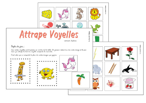 Phonologie - Attrape Voyelles