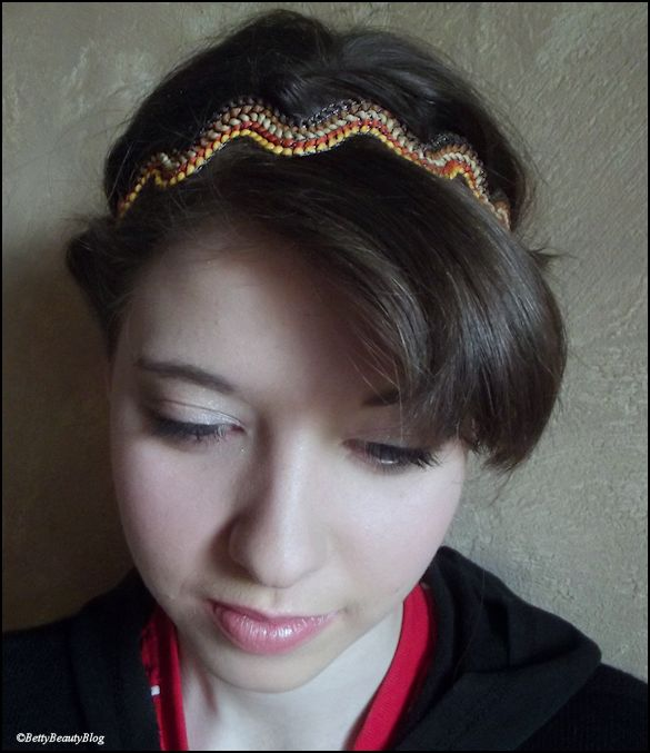 Headband et jolie tête ....