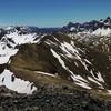 Du Vértice de Anayet (2559 m), la crête entre Arroyeras et Vértice