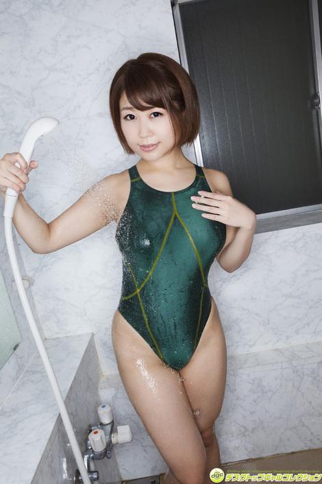 WEB Gravure : ( [DGC] - | 2016.08 | Yumina Mimori/美森ゆみな : 童顔&マシュマロHカップに視線が釘付け! )