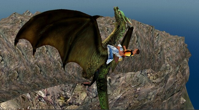 Balade à dos de dragon