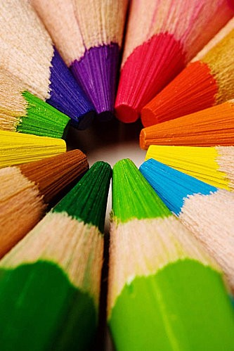 crayons couleur