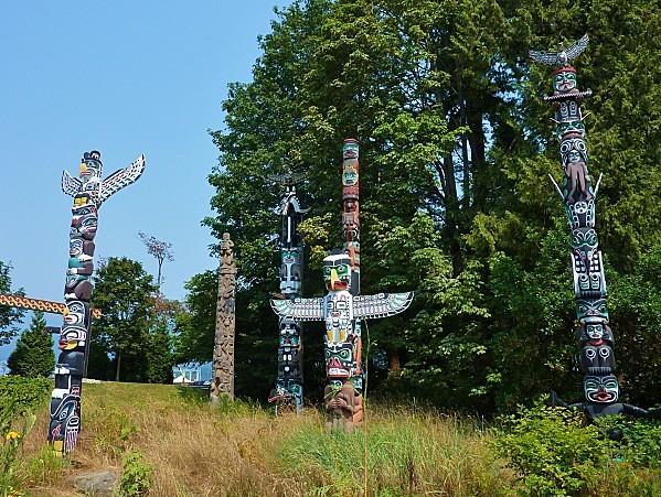 Jour 28 Stanley Park Totem Pole