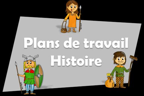 Plans de travail - Histoire