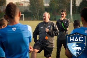 Séance de Michael BUNEL ( AC Le Havre Ligue2)