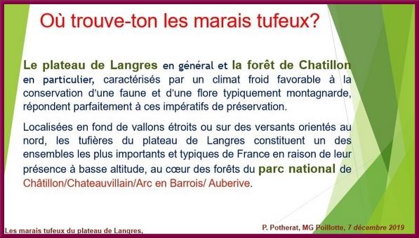 """""""Les marais tufeux du Plateau de Langres"""", une conférence proposée par la Société Mycologique du Châtillonnais"""