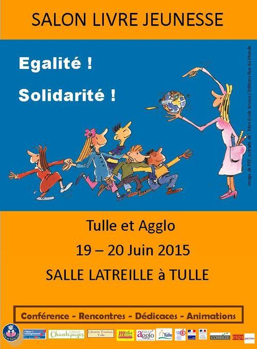 Salon du Livre de Tulle 2015 !