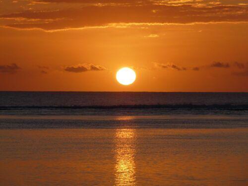 Le soleil se couche ...