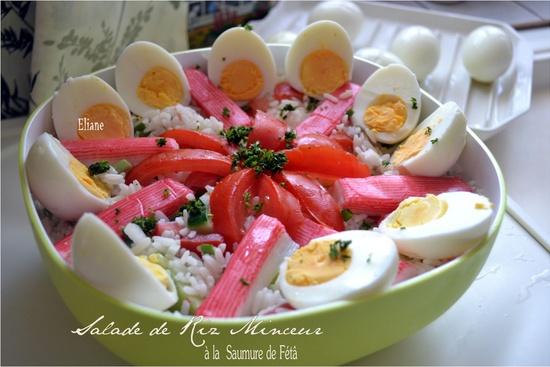 Salade de Riz minceur